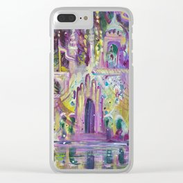Once Upon A Castle Clear iPhone Case