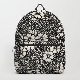 Flowers. Backpack