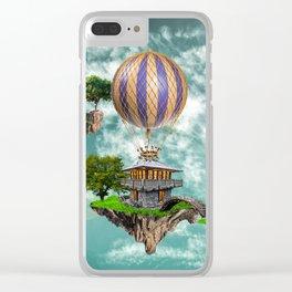 Balloon House Clear iPhone Case