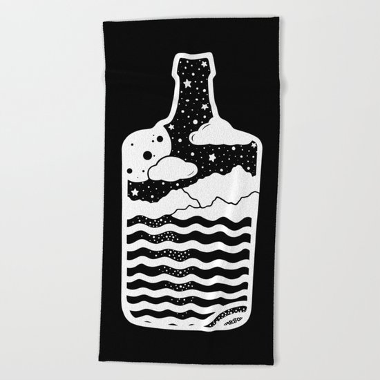 MOONSH/NE Beach Towel