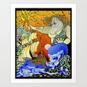 Tales of the Trident:Poseidon by svano_design