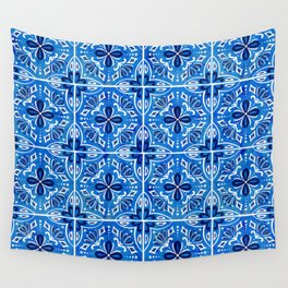 Sevilla - Spanish Tile Wall Tapestry