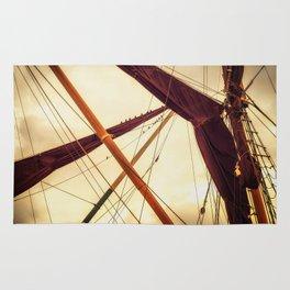 Masts of Yacht Rug