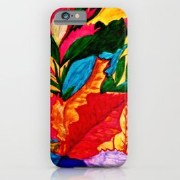 The Life Of The Leaf iPhone Case
