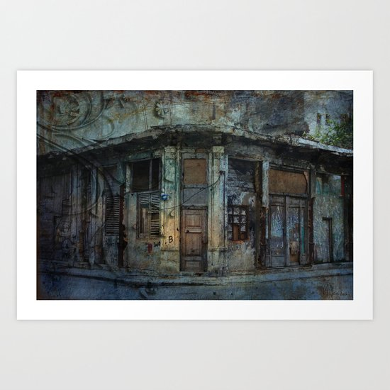 The Front Door Art Print