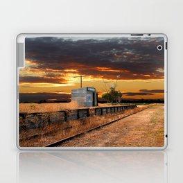 Sunset at the Coonawarra Rail Station Laptop & iPad Skin