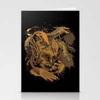 demon Stationery Cards featuring Demon by Gregery Miller