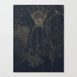 The Cloak of Blinding Levitation Canvas Print