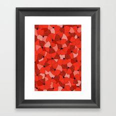 Red Poppies Framed Art Print
