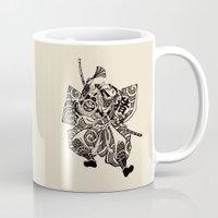 samurai Mugs featuring Samurai by Scalifornian