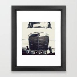Benz Framed Art Print