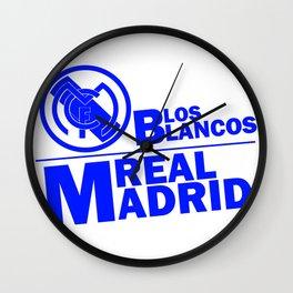 Slogan: R. Madrid Wall Clock