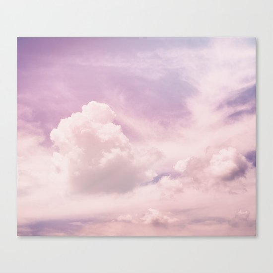 Upon The Clouds Canvas Print
