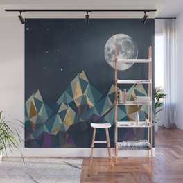 Night Mountains No. 1 Wall Mural