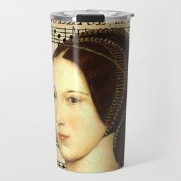 Musical Queen Anne Boleyn Travel Mug