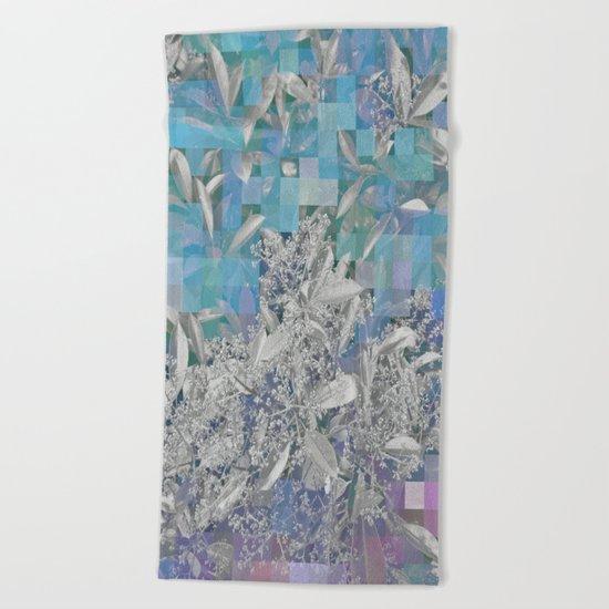 Variato blues Beach Towel