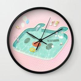 Poolday Wall Clock