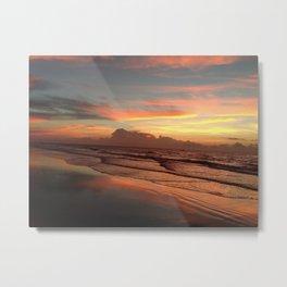 Sunrise on Ocracoke Island - 4 Metal Print