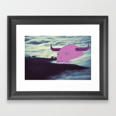 awfully strong Framed Art Print