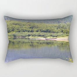 By The River Scandinavia #decor #society6 Rectangular Pillow