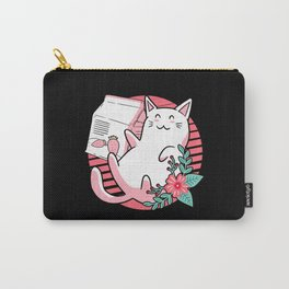 Kawaii Cat Pastel Goth Japanese Fashion Kitty Carry-All Pouch