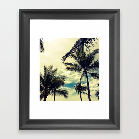 Is it summer yet? Framed Art Print