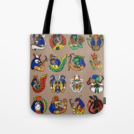 Egyptian Gods and Goddesses Tote Bag