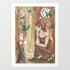 Secret Corner Art Print