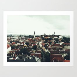 City of Tallinn Art Print