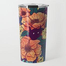Wild Flowers Travel Mug