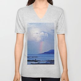 Love under the Rainbow Unisex V-Neck
