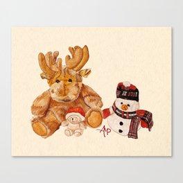 Christmas Buddies Canvas Print