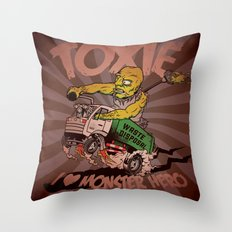 I (HEART) MONSTER HERO Throw Pillow