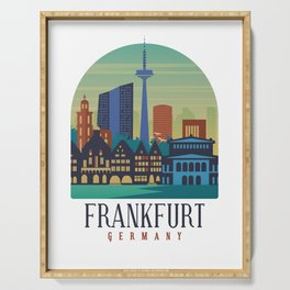 Frankfurt Germany Serving Tray