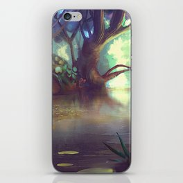Forest theme 1 iPhone Skin