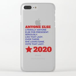 Anyone Else 2020 Clear iPhone Case