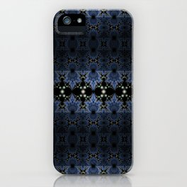 Fractal Art - Ballet in the mirror iPhone Case