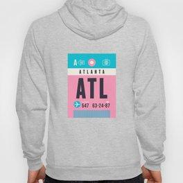 Baggage Tag A - ATL Atlanta USA Hoody