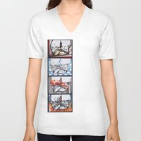 converse V-neck T-shirts featuring Converse by Creo