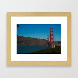 The Golden Gate Bridge Framed Art Print
