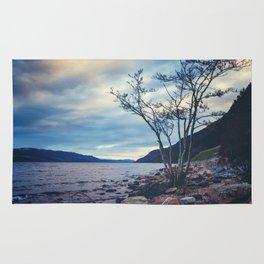 Daylight Leaving Loch Ness Rug