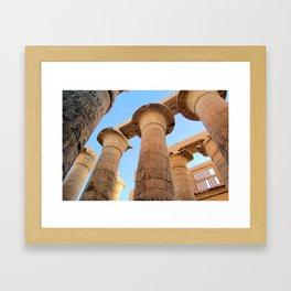 The Great Hypostyle Hall of Karnak Framed Art Print