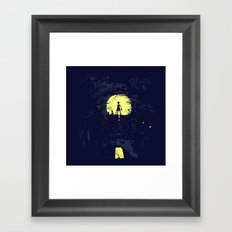 Last Living Framed Art Print