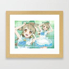 Love Live! Kotori Minami Framed Art Print