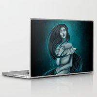 snatch Laptop & iPad Skins featuring La Llorona by Tera Sidebottom