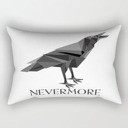 NEVERMORE RAVEN Rectangular Pillow