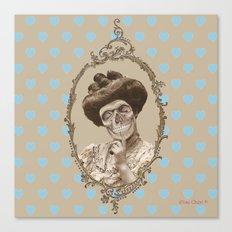 Madame Skull Canvas Print