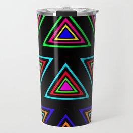 Tiled [Blacked out] Travel Mug