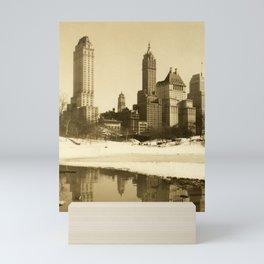 New York Central Park, Gapstow Bridge Mini Art Print