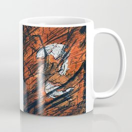 Reverse Frozen Fish Coffee Mug